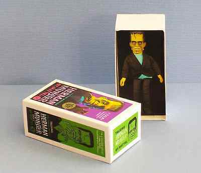 Dollhouse Miniature 1:12 Herman Munster Doll Box 1960s haunted house toy box