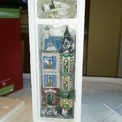 DEPT 56 CAFE CARPICE FRENCH RESTAURANT 58882 Christmas in the City NIB PERFECT