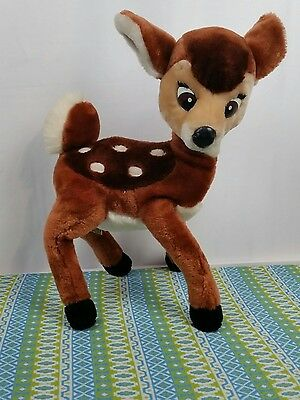 Vintage Applause Farrah Fawn Poseable Standing Plush White Tail Deer Bambi 16""