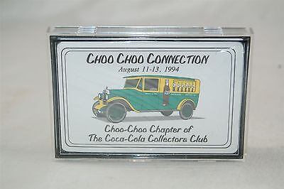 Coca Cola Playing Cards Choo Choo Connection 1994 Collector's Club