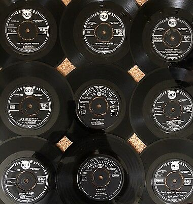 Elvis Presley Special 9 Rare First Press Rca 7'' Singles