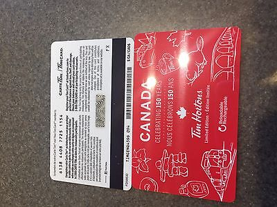 TIM HORTONS Just Released Canada 2016/17 Fd56632 Gift Card With No Value