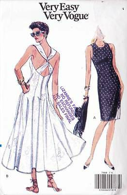 ~Very Easy VOGUE Sewing Pattern 7988 Misses' Dress UNCUT S 6-10~