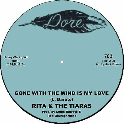 GONE WITH THE WIND IS MY LOVE Rita & The Tiaras  *NORTHERN SOUL*