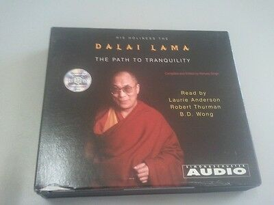 The Path to Tranquility by Dalai Lama (CD-Audio, 2000)
