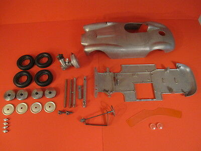 Original Mercury Lancia Ferrari D24 Tether Car + Super Tigre G20S Motor Movo