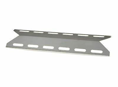 2 Pack Music City Metals 95531 Porcelain Steel Heat Plate for Outback Brand Gas Grills Black