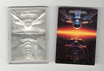 Star Trek VI The Undiscovered Country, 1oz .9999 Silver, 1992 Cinema Collection