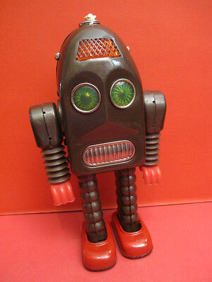 All Original Asakusa A1 Thunder Robot Space Toy Made In Japan 1968