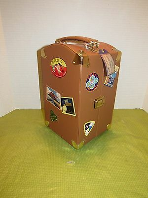 Muffy Vanderbear 1995 World Travel Trunk  With Tag Small Flaw Please Read
