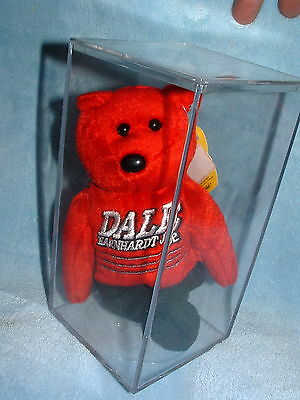 Nascar Dale Earnhardt Jr Red Golden Bear Sealed In Plastic Box