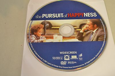 The Pursuit of Happyness (DVD, 2007, Widescreen)Disc Only Free Shipping 3-190