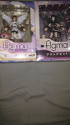 Pit and Dark Pit Figma Lot 1st Editions with AR cards