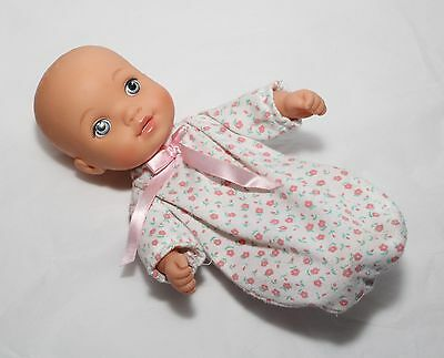 """Lauer Playmates water baby 10"""" with bunting outfit 2012"""