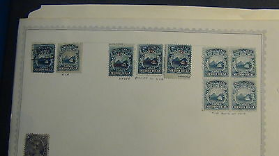 Costa Rica stamp collection on Minkus pages to '92