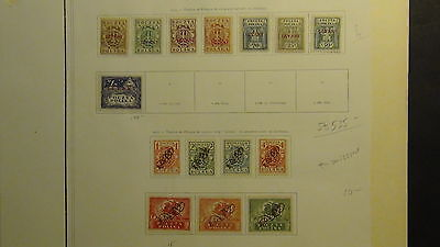 Levant  Wonderful Mint  stamp collection on old Yvert pages
