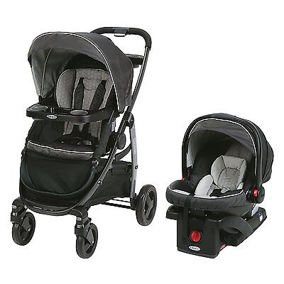 Graco Modes Travel System, Davis - 3 Strollers in 1 - Car Seat Baby Toddler NEW