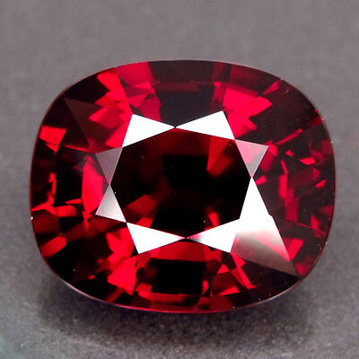 18.1ct.DAZZLING GEM! 100%NATURAL TOP RED SPESSARTITE GARNET AAA LARGE NR