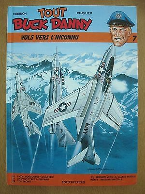 BD BERGESE CHARLIER TOUT BUCK DANNY N°7 * DUPUIS R 11/1999 comme neuf