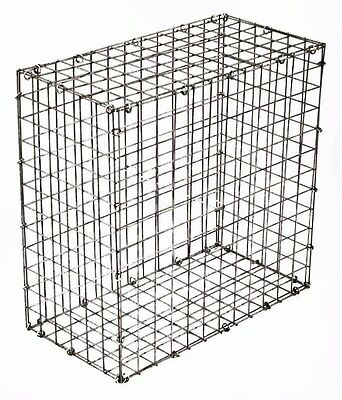 Galvanised Steel Cage Durable Structure Flat Pack Construction 108L Capacity New