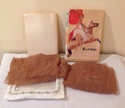 "Vintage ""kayser"" Ladies Nylon Stockings"
