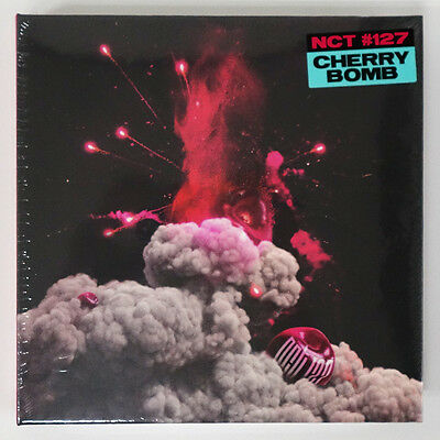 NCT 127 - NCT #127 CHERRY BOMB (3rd Mini Album) CD+Photobook+Poster+Free Gift