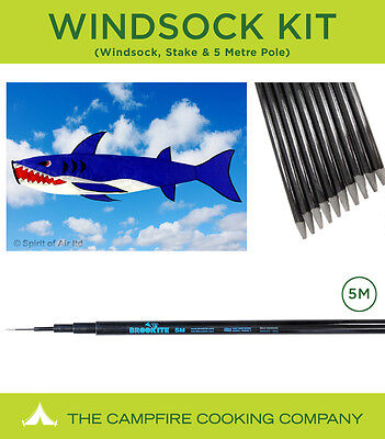 Festival Windsock and  5 M Telescopic Flag pole kit