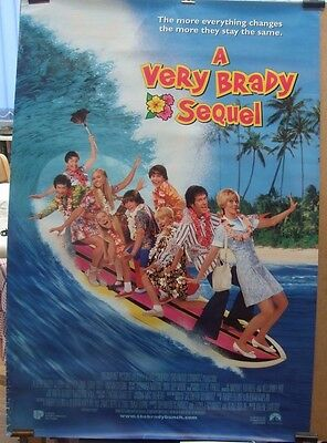 A VERY BRADY SEQUEL(1996)Original rolled US one sheet movie poster UK POST FREE