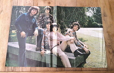 The OSMONDS 'outdoors' Centerfold magazine POSTER  17x11 inches  BADLY CREASED !