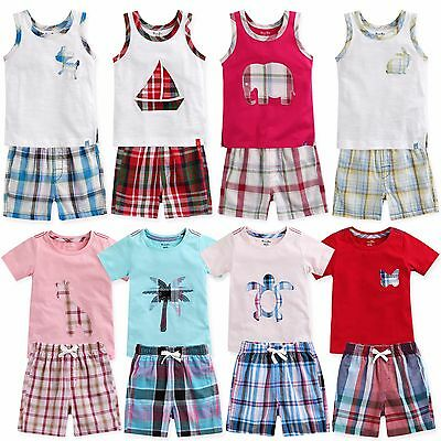 "Vaenait Baby Kids Girls Sleepwear Clothes Outfit set ""9Girls Short Set"" 12M-7T"
