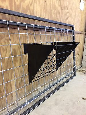 2 Ft Hanging Hay Feeder For Sheep And Goats