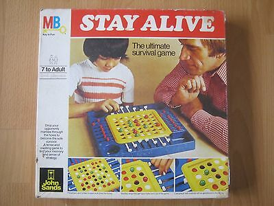 Stay Alive Game - 1977 - Milton Bradley