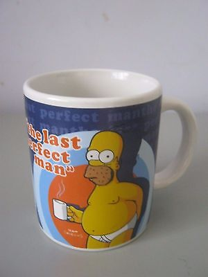 "The Simpsons - Homer Simpson "" The Last Perfect Man "" Ceramic Cup / Mug"