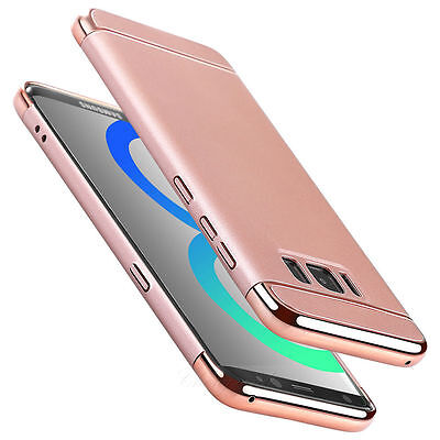 Slim Luxury Electroplate Hard Shockproof Case Cover For Samsung Galaxy S7 Edge