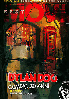 rivista BEST MOVIE speciale DYLAN DOG Lucca Comics