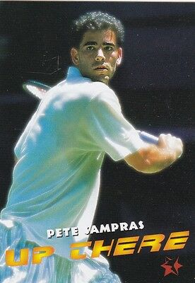 1997 Intrepid Tennis Trading Card #1 Pete Sampras USA