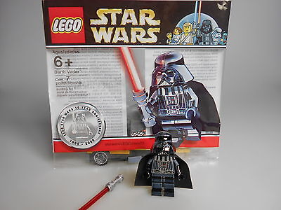 LEGO® Star Wars Minifigur Chrome Darth Vader  Polybag 4547551 Neuwertig