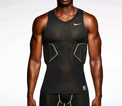 Nike Hyperstrong combat Elite Sleeveless Top+protective foam vest compres.shirt