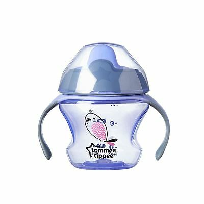 Tommee Tippee Sippee Cup 4m+ Purple Bird - 6 Pack