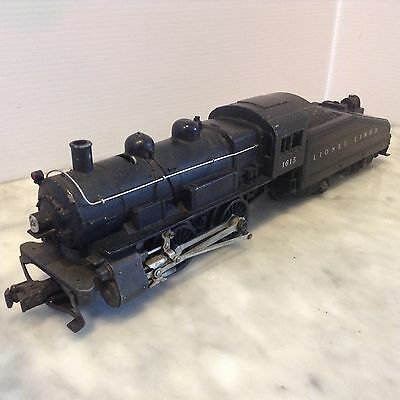 Lionel O Scale #1615  0-4-0 Engine With Tender-Work