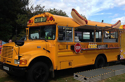 American School Bus. Fully fitted catering van, Fabulous opportunity!