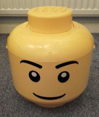 LEGO Large Lego Sort and Store Storage Head with Handle RETIRED