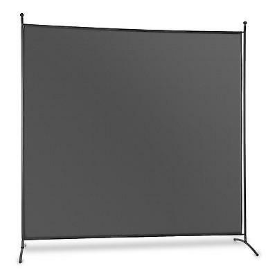 Screen Shade Privacy Room Divider Indoor Outdoor Light Steel Frame Wide Foldable