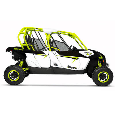 DragonFire HiBoy Door Graphics Can-Am Maverick MAX XDS Turbo 2015 White/Manta