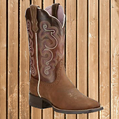 Ariat Women´s Westernstiefel Quickdraw, Ariat Western Boots Quickdraw, 38
