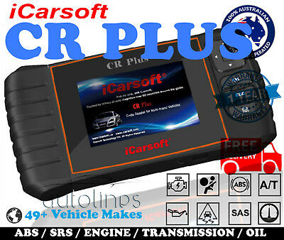 iCarsoft CR PLUS OBD2 OBDII Reset Diagnostic Scan Tool Car Fault Code Reader
