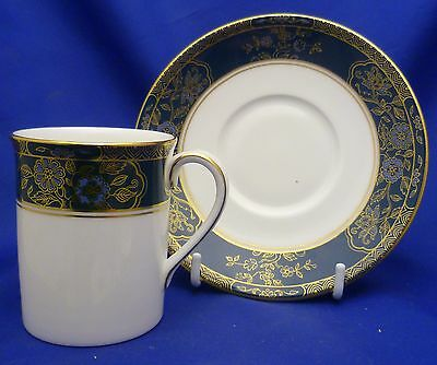 A Royal Doulton 'carlyle' Coffee Can And Saucer