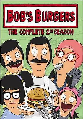 Bobs Burgers: The Complete 2nd Season (DVD, 2013, 2-Disc Set)