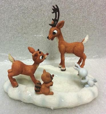 Enesco Rudolph Reindeer Island of Misfit Toys Fun In a Bumble Print Figure