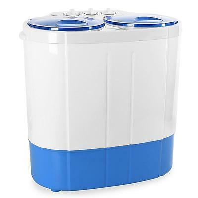 PORTABLE COMPACT WASHING MACHINE HOME GARDEN CAMPING TABLE TOP TRAVEL WASHER 2kg